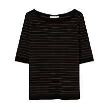 Buy Gerard Darel Bourgeois Jumper, Black Online at johnlewis.com