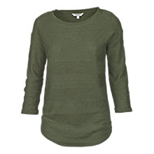 Buy Fat Face Harpenden Textured Dipped Hem Jumper Online at johnlewis.com