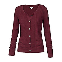 Buy Fat Face Rosley Cable Cardigan Online at johnlewis.com