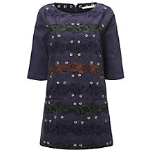 Buy White Stuff Fluttering Tunic, Purple Online at johnlewis.com