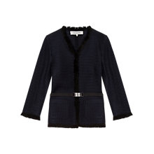 Buy Gerard Darel Aveyron Jacket, Blue Online at johnlewis.com