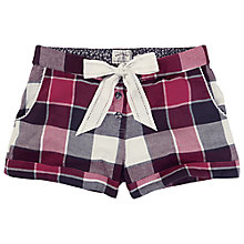 Buy Fat Face Buffalo Check Pyjama Shorts Online at johnlewis.com