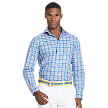 Buy Polo Ralph Lauren Stanton Shirt, Blue/Slate Online at johnlewis.com