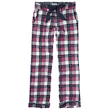 Buy Fat Face Jacquard Check Pyjama Bottoms, Multi Online at johnlewis.com