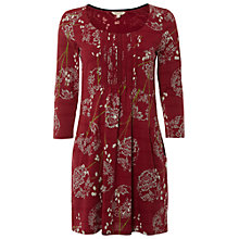Buy White Stuff Mellow Jersey Tunic Top, Rich Red Online at johnlewis.com
