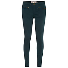 Buy White Stuff Jenny Zip Jeggings, Teal Online at johnlewis.com