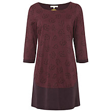 Buy White Stuff Sky Flower Tunic, Plum Online at johnlewis.com
