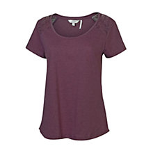 Buy Fat Face Lucy Lace Pyjama Top Online at johnlewis.com