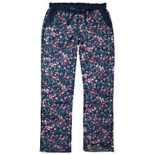 Buy Fat Face Vintage Floral Rayon Pyjama Pants, Twilight Online at johnlewis.com