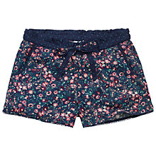 Buy Fat Face Vintage Floral Rayon Pyjama Shorts, Twilight Online at johnlewis.com