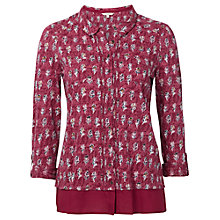 Buy White Stuff Weavers Jersey Shirt, Pink Online at johnlewis.com