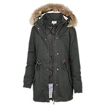Buy Fat Face Paignton Parka Online at johnlewis.com