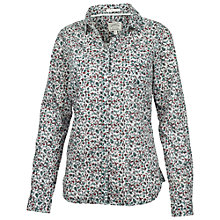 Buy Fat Face Classic Fit Berry Shirt, Ivory Online at johnlewis.com