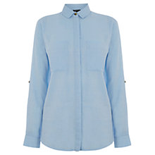 Buy Warehouse Cotton Shirt Online at johnlewis.com