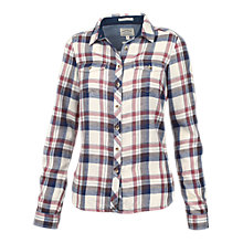Buy Fat Face Classic Fit Cotton Check Shirt, Ivory/Multi Online at johnlewis.com