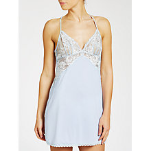 Buy COLLECTION by John Lewis Scarlett Chemise, Soft Blue Online at johnlewis.com