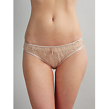 Buy Somerset by Alice Temperley Gigi Lace Brazilian Briefs, Vanilla Online at johnlewis.com