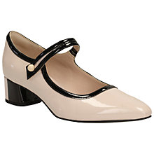 Buy Clarks V&A Swixties Faye Block Heeled Mary Jane Court Shoes Online at johnlewis.com
