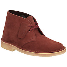 Buy Clarks Originals Low Heeled Desert Boots Online at johnlewis.com
