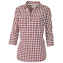 Buy Fat Face Gingham Check Popover Online at johnlewis.com