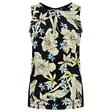 Buy Warehouse Floral Print Shell Top, Multi Online at johnlewis.com