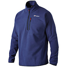 Buy Berghaus Stainton Half Zip Fleece, Blue Online at johnlewis.com