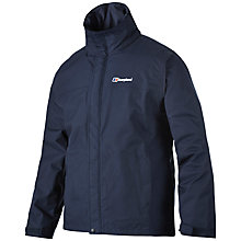 Buy Berghaus RG Alpha Waterproof Men's Jacket, Navy Online at johnlewis.com
