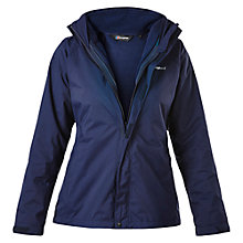 Buy Berghaus Caliston Alpha 3-in-1 Waterproof Women's Jacket, Blue Online at johnlewis.com