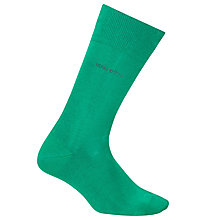 Buy BOSS George Socks, Green Online at johnlewis.com