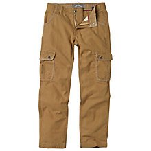 Buy Fat Face Boys' Penzance Cargo Trousers Online at johnlewis.com