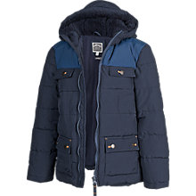 Buy Fat Face Boy's 4 Pocket Puffa Jacket Online at johnlewis.com