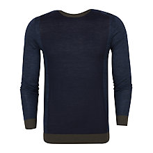 Buy Ted Baker T for Tall Finwale Colour Block Merino Jumper Online at johnlewis.com