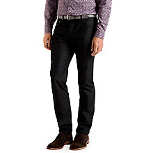 Buy Ted Baker T for Tall Herring Straight Jeans, Black Online at johnlewis.com