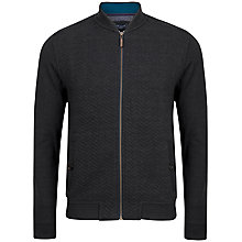 Buy Ted Baker T for Tall Weevers Quilted Herringbone Jersey Bomber Jacket Online at johnlewis.com