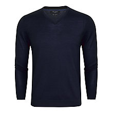 Buy Ted Baker T for Tall Bowfin Merino V-Neck Jumper Online at johnlewis.com