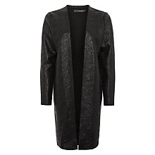 Buy Minimum Gloria Textured Cardigan, Black Online at johnlewis.com