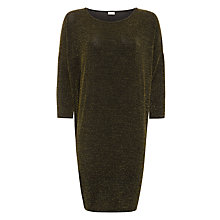 Buy Numph Irene Gold Dress, Caviar Online at johnlewis.com
