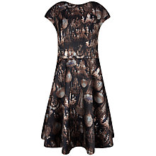 Buy Ted Baker Marui Chandelier Print Dress, Black Online at johnlewis.com