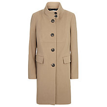 Buy Windsmoor Funnel Neck Wool Coat, Camel Online at johnlewis.com