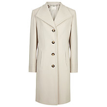 Buy Windsmoor Lapel Wool Coat, Winter White Online at johnlewis.com