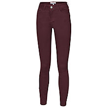 Buy Fat Face Twill Jeggings, Prune Online at johnlewis.com