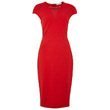 Buy Damsel in a dress Jova Dress, Red Online at johnlewis.com