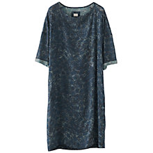 Buy Poetry Printed Wool Dress, Blue Ocean Online at johnlewis.com