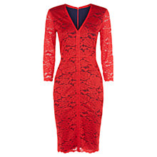Buy Damsel In a Dress Carmen Dress, Red Online at johnlewis.com