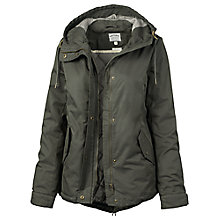 Buy Fat Face Penrith Swing Parka, Green Online at johnlewis.com