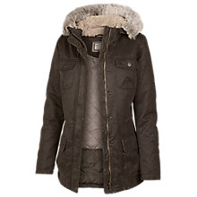 Buy Fat Face Poole Jacket, Brown Online at johnlewis.com