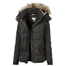 Buy Fat Face Pointon Short Padded Jacket, Grey Online at johnlewis.com