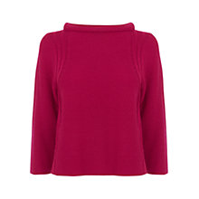 Buy Karen Millen Short Sweater, Pink Online at johnlewis.com