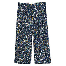 Buy Mango Floral Culottes, Navy Online at johnlewis.com