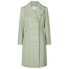 Buy Windsmoor Berkley Square Double Breasted Coat, Pistachio Online at johnlewis.com